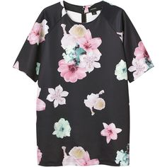 Monki Florence dress ($39) ❤ liked on Polyvore featuring dresses, tops, shirts, vestidos, print perfection, loose fit dress, mixed print dress, loose mini dress, short dressy dresses and print mini dress