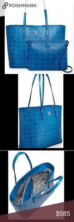 MCM Anya Logo Zip Medium Shopper New with re ticket tag MCM Bags Totes
