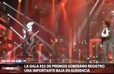 Anuncian Que Los Premios Soberanos Reportaron Bajas En La Sintonía Del Público