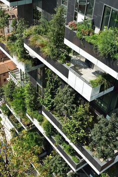 Bosco Verticale - Internationaler Hochhaus-Preis 2014 geht nach Mailand