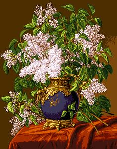 Cross Stitch Patterns, Handmade, Painting, Crossstitch, Gallery, Cross Stitch, Flowers, Punto De Cruz, Blue Prints