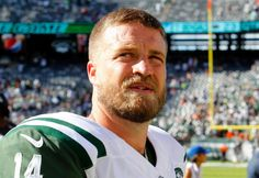 Ryan Fitzpatrick #14 of the New York Jets walks off the field after a loss against the Cincinnati Bengals at MetLife Stadium on Sunday, Sept. 11, 2016 in East Rutherford, New Jersey.