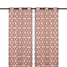 Found it at Kirklands. They have the best selection and value on drapes!. Spice Teemu Curtain Panel Set, 96 in.