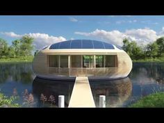 Water Nest 100: An Eco-Friendly, Solar-Powered Home Made with Near 100% Recycled Materials - David Wolfe