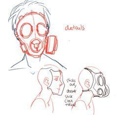 Anatomy Drawing Reference Happy town Children with gas masks hold hands and dance outside a barren or an overgrown house - FAQ ★ OCs ★ ART TAG HI I'M KEL I draw sometimes and I like my OCs a little too much **Pixels by vonna! Drawing Techniques, Drawing Tips, Drawing Sketches, Book Drawing, Drawing Stuff, Sketching, Art Tutorials, Drawing Tutorials, Painting Tutorials