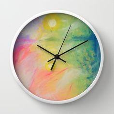 Impressions At Sundown  Wall Clock by Morgan Ralston - $30.00