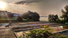 Z niezrealizowanych projektów najbardziej żal mi jeziora ;-) #encek #nowahuta #instaphoto #Igerskrakow #nofilter #fog #light #sunrise