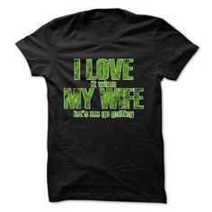 I love My Wife and Fishing