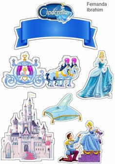 Baby Cinderella, Cinderella Birthday, Cinderella Cakes, Tuxedo Card, Cupcakes Wallpaper, Christmas Cake Designs, Princess Cake Toppers, Cake Templates, Pop Up Box Cards