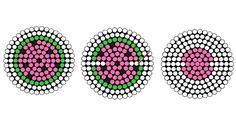 Watermelon earbud holder perler beads pattern