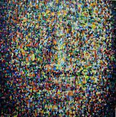 """Saatchi Art Artist Dejan Bozinovski; Painting, """"Anonymous"""" #art"""