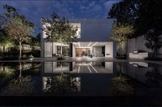 Lighting design: Orly Avron Alkabes , Architecture: Broides Architects , Photography: Amit Geron Architectural Lighting Design, In Plan, Light Architecture, Architects, Mansions, Studio, House Styles, Interior, Photography