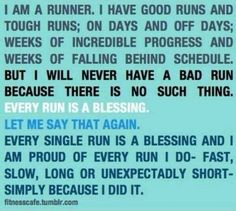 Trying to be the runner I s hard work but I a m going to do it!