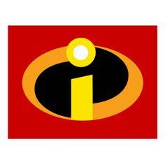 The Incredibles Logo Postcard #theincredibles #incredibles #superheroes #licensed #merchandise