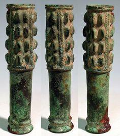 luristan-mace-head-wp2363 Luristan, Persia, 2nd Millennium BC. Fine bronze mace head.Persia (Iran)