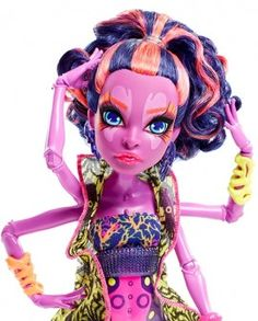 05.06.17 Jucarii fetite papusa Monster High Kala Mer-ri Mattel