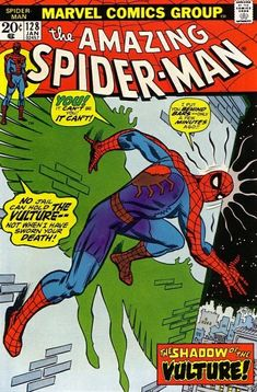 The Amazing Spider-Man #128 - January 1974