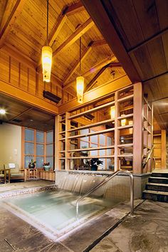 Salish Lodge & Spa - Snoqualmie Washington Resort Photo Gallery - The Spa