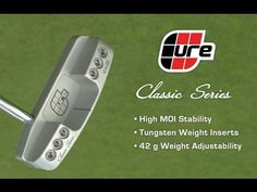 Golf Life talked with several golfers about what they thought of the classic and RX series putters from Cure Putters. See why this putter made the Golf Diges. Golf Putters, Classic Series, Nintendo Wii Controller, The Cure