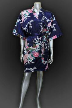 Womens Robes Silk Robe Kimono Robe Bride robe by thaichill on Etsy, $21.00