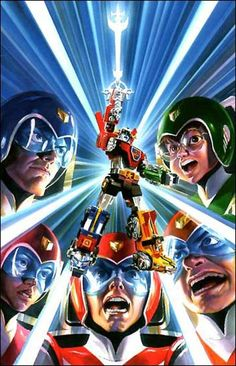 Voltron cover by Alex Ross