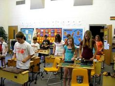 6th grade class playing one of the pieces from the Orff/Keetman volumes. This is Andante from V4, p.46, #21 - 3.