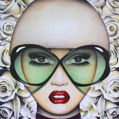 Artist Anja Van Herle   Original Artwork, In Bloom