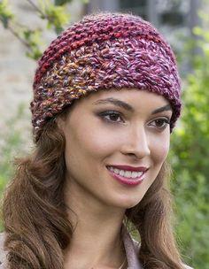 Free Knitting Pattern for Berries Blast Beanie