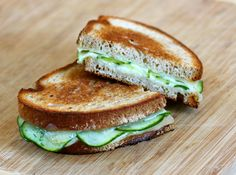Grilled Cheese: Havarti Dill and Cucumber on Rye | Babble: Some of my favorite things in one sandwich. Yes, please!