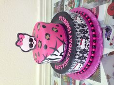 Monster High birthday cake Jeseca Creations Chino HIlls CA