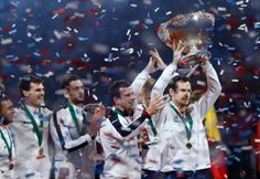 Inspired Murray leads Britain to Davis Cup title