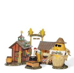 Department 56 Snow Village Rolling Acres Corn Maze Accessory Figurine (Set of Halloween Village, Halloween Items, Fall Halloween, Halloween Tricks, Department 56 Christmas Village, Polaroid, Farm Fun, Monster House, Corn Maze