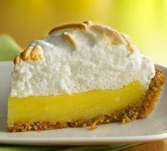 Luscious Meringue Lemon Pie