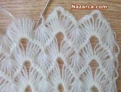 tigla-firkete-isi-ceyizlik-yelek Crochet Blocks, Crochet Squares, Crochet Stitches, Broomstick Lace Crochet, Hairpin Lace Crochet, Hand Work Embroidery, Hair Pins, Shawl, Crochet Earrings