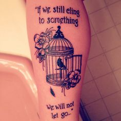 I absolutely love my new bird cage tattoo done by chris at collective ink in traverse city mi