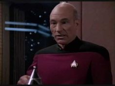 """Tea, Earl Grey, Hot"" with Captain Jean-Luc Picard from Star Trek"