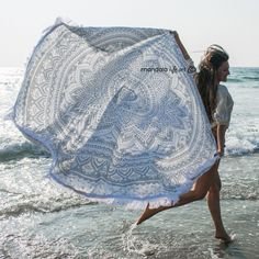 Boho Mandala Tapestry $20.00 Hippie Tapestry, Mandala Beach Blanket, Tapestry Room Decor, Round Yoga Mat by MandalaLifeArtShop on Etsy: https://www.etsy.com/listing/526251509/boho-mandala-tapestry-hippie-tapestry