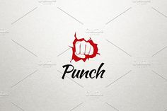 Punch Logo by Made by Arslan on @creativemarket