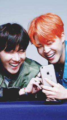 J-Hope and Jimin. <3