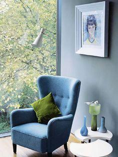 Home Interior design Blue, 25 Blue and Green Interiors Design An interesting and Fresh Colors Combination Home Poltrona Bergere, Green Interior Design, Pastel Interior, Classic Interior, Luxury Interior, Muebles Living, Colorful Interiors, Blue Interiors, Moroccan Interiors