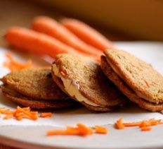 Inside-Out Carrot Cake Cookies from Recipe Connoisseur.