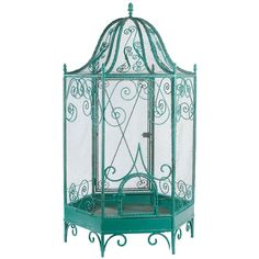 Large French Aviary. I MUST have this!! The antique dealer would hate me because I would actually use it for birds..I love birds :) maybe some doves.