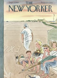 The New Yorker - Saturday, September 2, 1950 - Issue # 1333 - Vol. 26 - N° 28 - Cover by : Leonard Dove