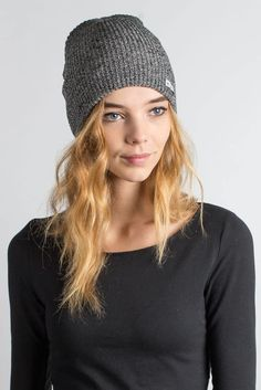 c8b6dd0ca1a The Daily Heather Beanie is a soft and light-weight beanie with slightly  ribbed knit texture