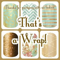 Party ending photo • Jamberry Nail wraps • www.taramichele.jamberrynails.net