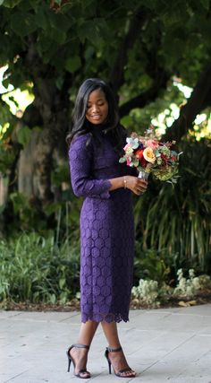 Downtown Demure // Modest Fashion Blog // Review of the elegant @Dainty Jewell's Modest Clothing Lady in Lace Dress #modestfashion