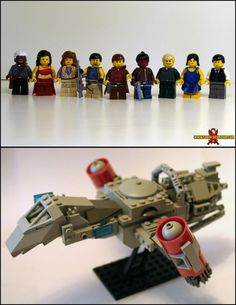 Lego's and Firefly.