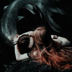 Esprit Confus - The sensual and captivating photos of Charlotte Grimm Fantasy Creatures, Mythical Creatures, Sirens, Story Inspiration, Character Inspiration, Water Nymphs, Mermaids And Mermen, Merfolk, Merman