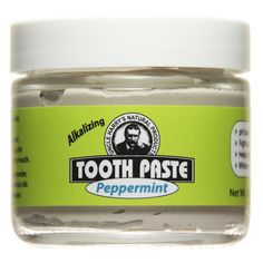 uncle harry's natural products/peppermint toothpaste