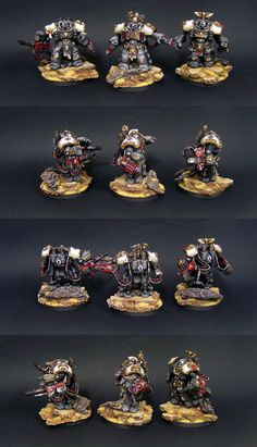 40k- Black Templars Centurion Squad